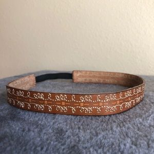 American Eagle Genuine Leather Headband